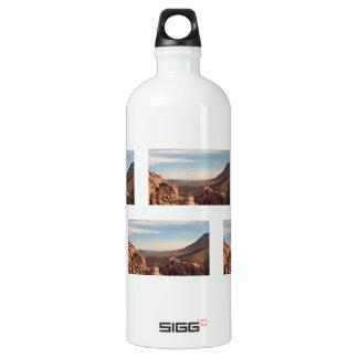 Red Rock Landscape Aluminum Water Bottle