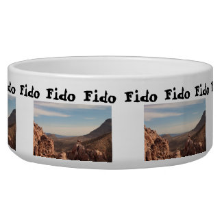 Red Rock Landscape; Customizable Bowl