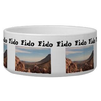 Red Rock Landscape; Customizable Bowl