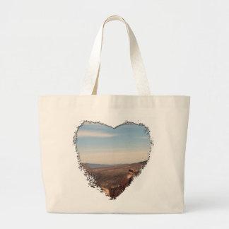 Red Rock Landscape Large Tote Bag