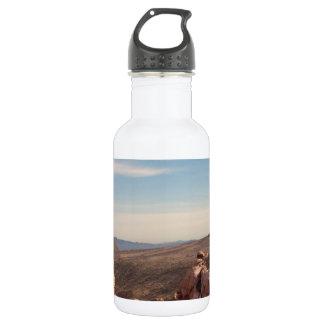 Red Rock Landscape Stainless Steel Water Bottle
