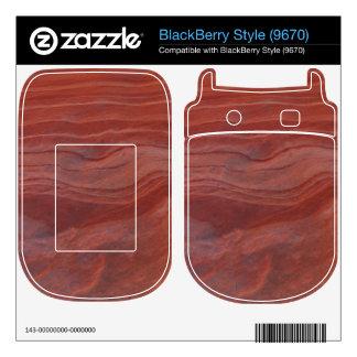 Red Rock Layer Study BlackBerry Decals