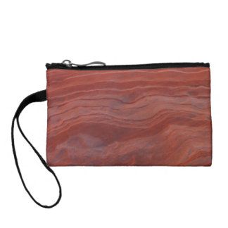 Red Rock Layer Study Change Purse