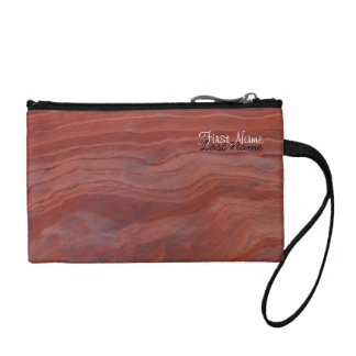 Red Rock Layer Study; Customizable Coin Purse