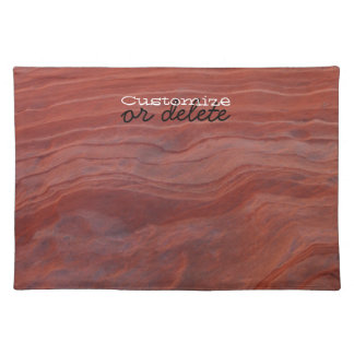 Red Rock Layer Study; Customizable Placemat