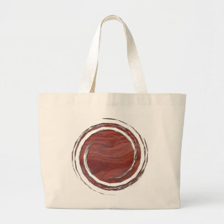 Red Rock Layer Study Large Tote Bag