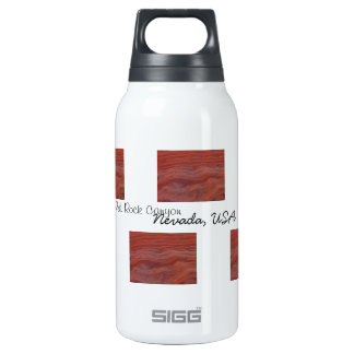 Red Rock Layer Study; Nevada Souvenir Thermos Bottle