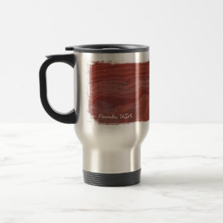Red Rock Layer Study; Nevada Souvenir Travel Mug