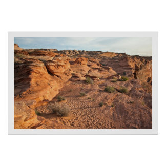 Red Rock Layers Poster
