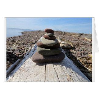 Red Rock Meditation Sculpture Card