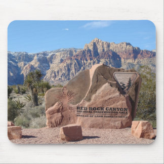 Red Rock Nevada Mouse Pad