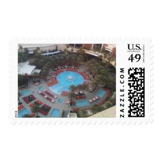 Red Rock Resort Pool Postage