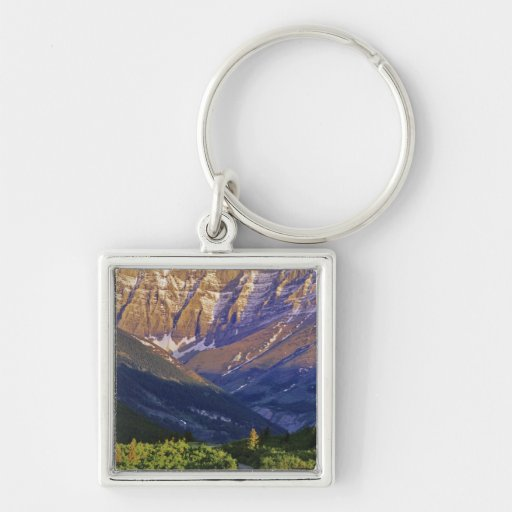 Red Rock Road in Waterton Lakes National Park Key Chain