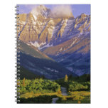 Red Rock Road in Waterton Lakes National Park Note Book