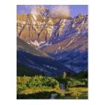 Red Rock Road in Waterton Lakes National Park Postcard