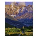 Red Rock Road in Waterton Lakes National Park Poster