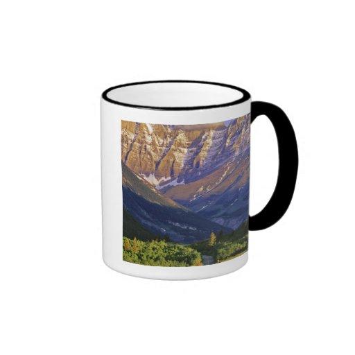 Red Rock Road in Waterton Lakes National Park Ringer Coffee Mug