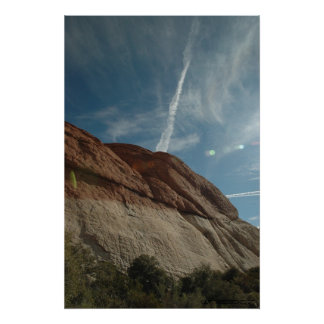 RED ROCK SKY POSTER