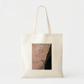 Red Rock Stone Texture Canvas Bag
