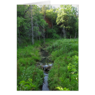 Red Rock Stream Greeting Card