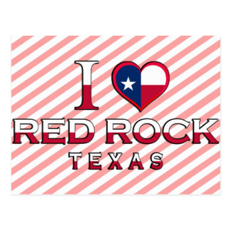 Red Rock, Texas Postcard