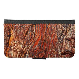 Red Rock Texture Samsung Galaxy S6 Wallet Case