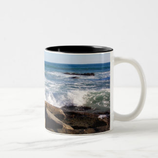 Red Rock Waves Mug