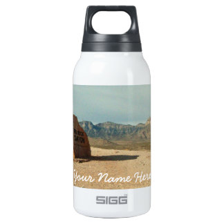 Red Rock Welcome; Customizable 10 Oz Insulated SIGG Thermos Water Bottle