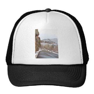 Red Rock Winter Drive Trucker Hat