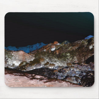 Red Rock Winter Landscape Mouse Pad
