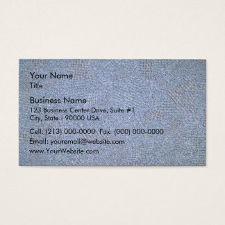 Red Rock with Lichens on a Grassy Landscape Business Card