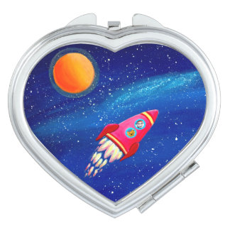 Red Rocket / Adventurous Compact Mirror
