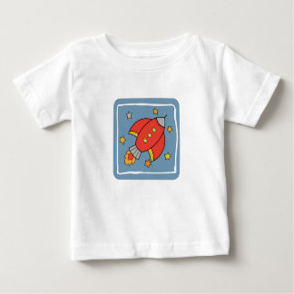 Red Rocket Baby T-Shirt