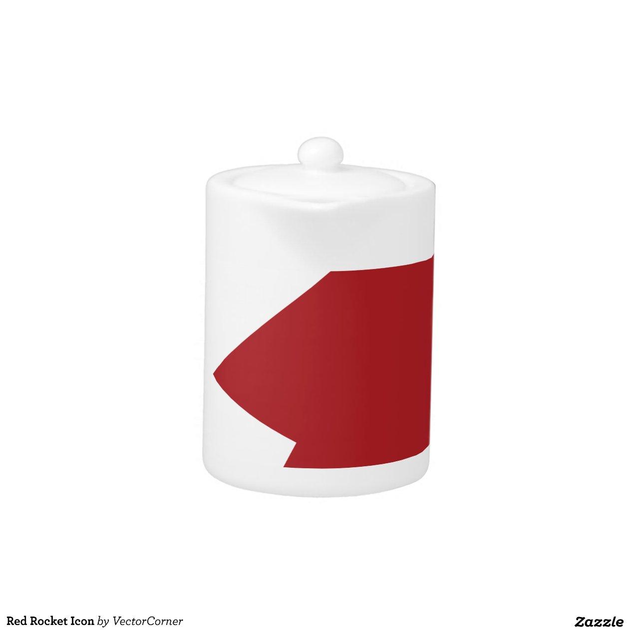 Red Rocket Icon Red Rocket Icon  Zazzle
