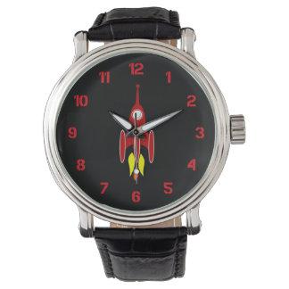 Red Rocket Wrist Watch