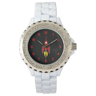 Red Rocket Wristwatch