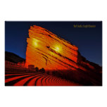 Red Rocks amphitheater Posters