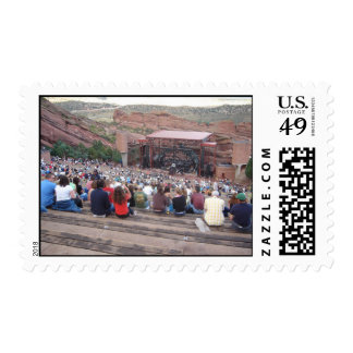 Red Rocks Amphitheater Stamp
