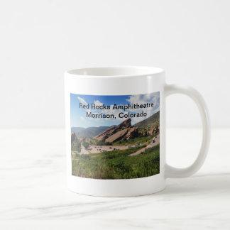 red rocks ampitheatre in Morrison Colorado Coffee Mug