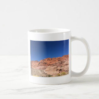 Red rocks and blue skies coffee mug
