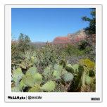 Red Rocks and Cacti I in Sedona Arizona Wall Sticker