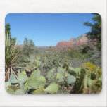 Red Rocks and Cacti I Mouse Pad
