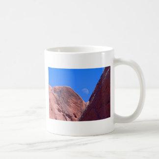 Red Rocks and Moon 01 Coffee Mug