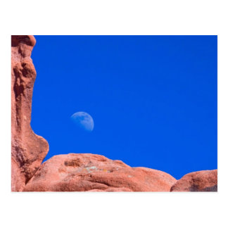 Red Rocks and Moon 02 Postcards