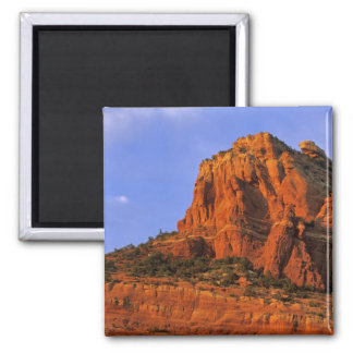 Red Rocks at Sterling Canyon in Sedona Arizona 2 Inch Square Magnet