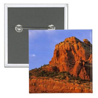 Red Rocks at Sterling Canyon in Sedona Arizona Pinback Button