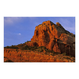Red Rocks at Sterling Canyon in Sedona Arizona Poster