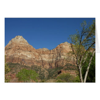 Red Rocks at Zion National Park Photography Card