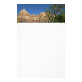Red Rocks at Zion National Park Stationery