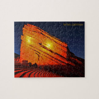 Red Rocks, Colorado Jigsaw Puzzle